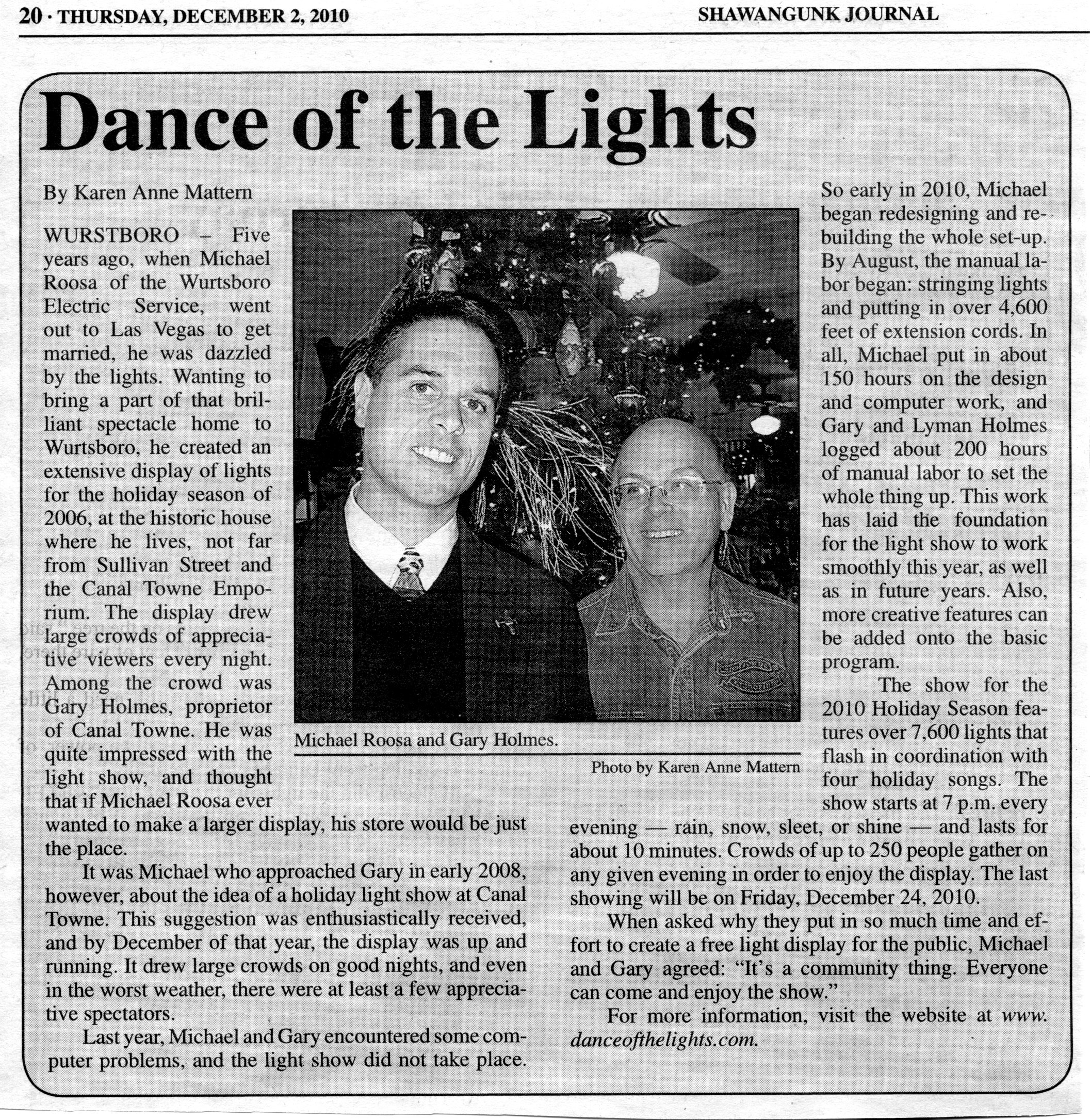 Dance of The Lights review
